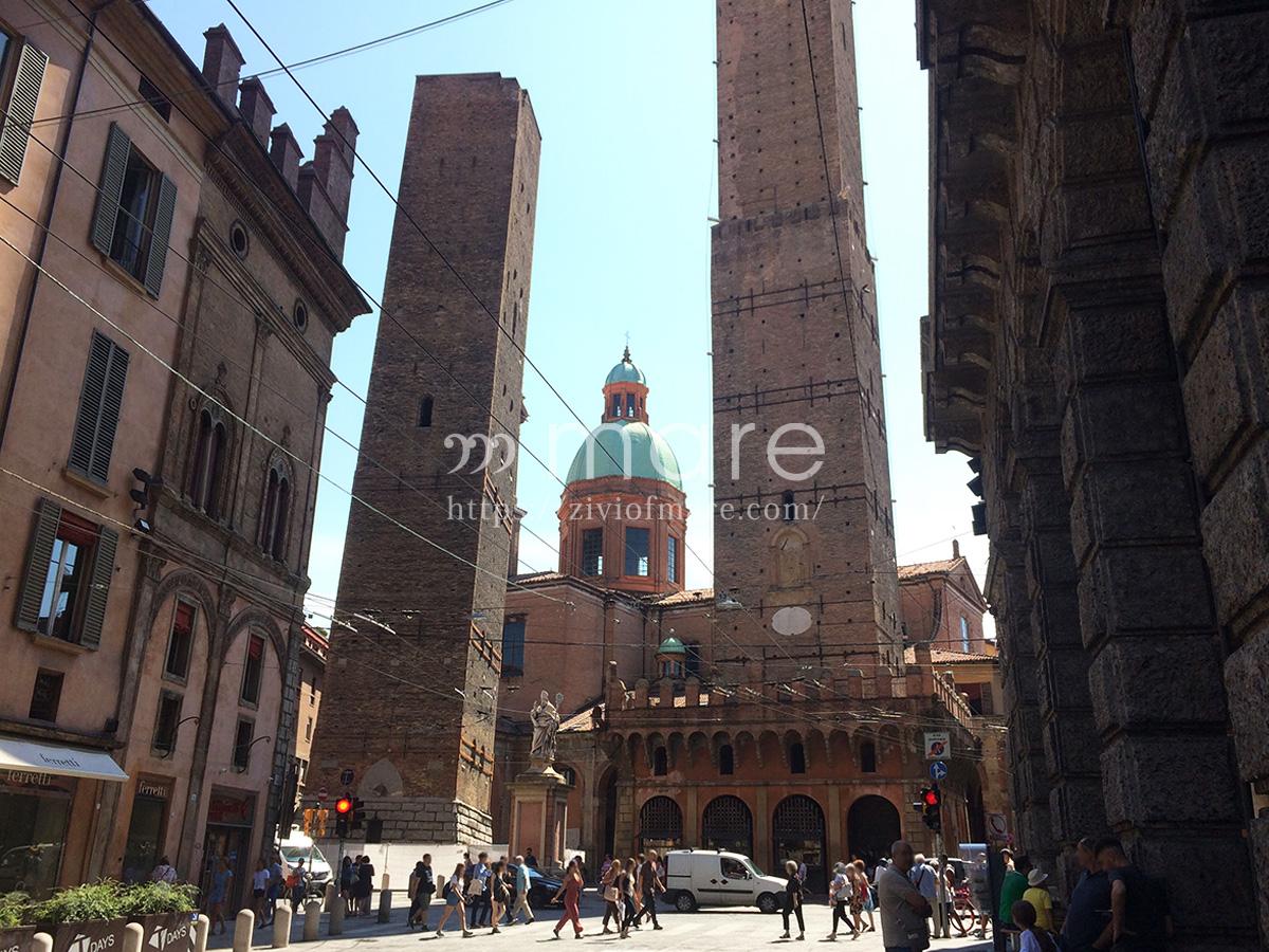 ミラノからボローニャにイタロで日帰り旅行!