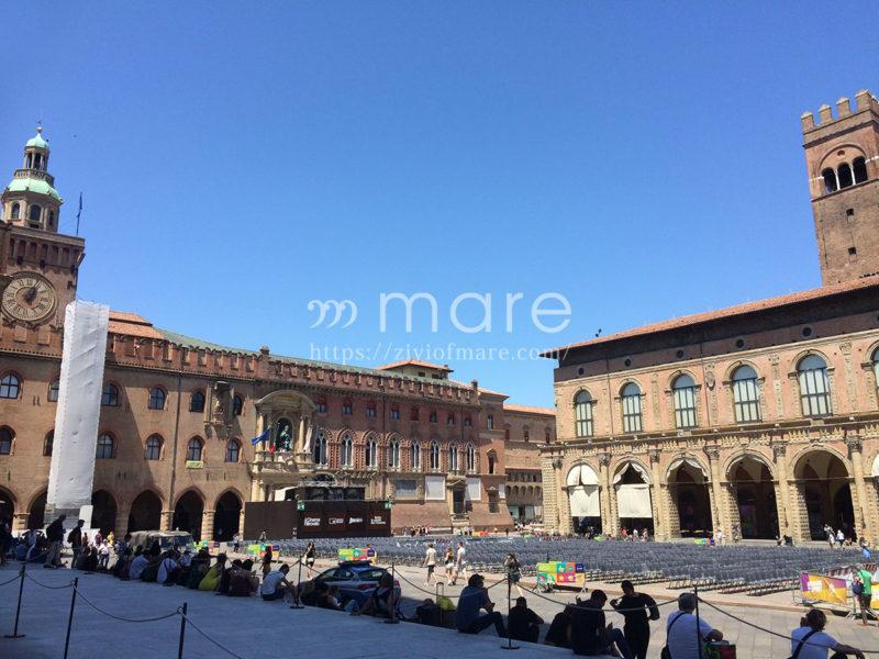 ミラノからボローニャにイタロで日帰り旅行!エンツォ王宮とアックルシオ宮殿