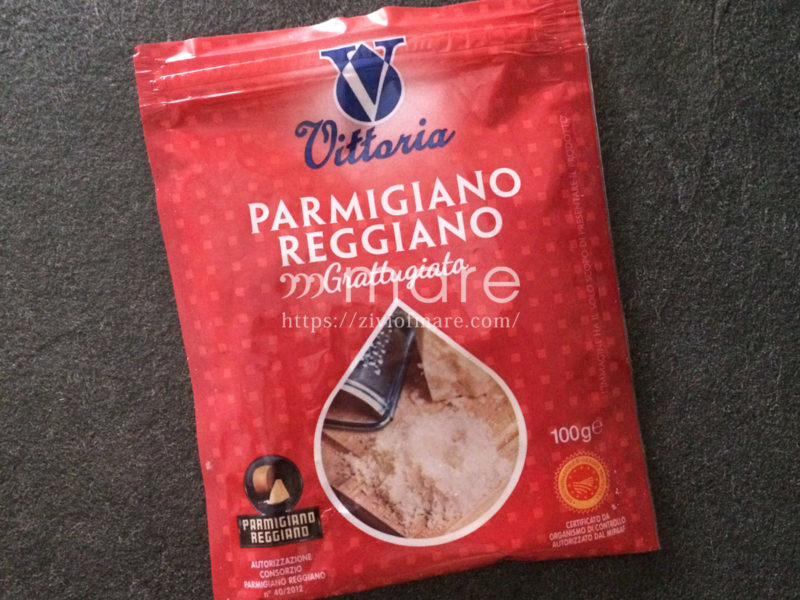カルボナーラの本場ローマではグアンチャーレとペコリーノチーズの代用パルミジャーノチーズ