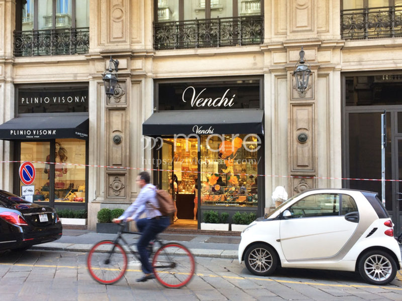 イタリアミラノのチョコレート屋さんVenchiヴェンキ外観