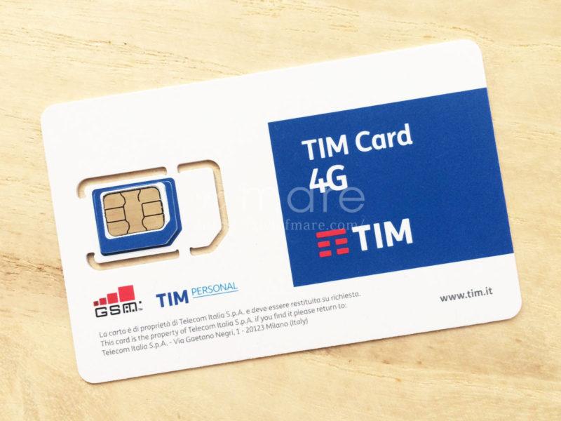 イタリアミラノ中央駅TIMのSIMカード