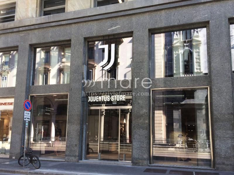ミラノにユヴェントスストアが7月4日にオープン!外観