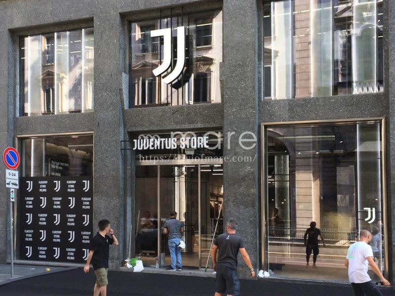 ミラノにユヴェントスストアが7月4日にオープン!ブッフォン来店前