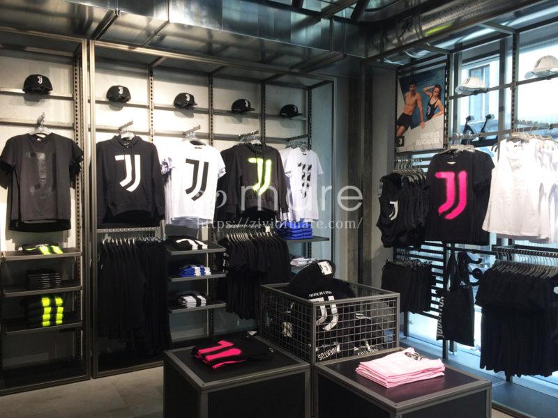 ミラノにユヴェントスストアが7月4日にオープン!店内普段着