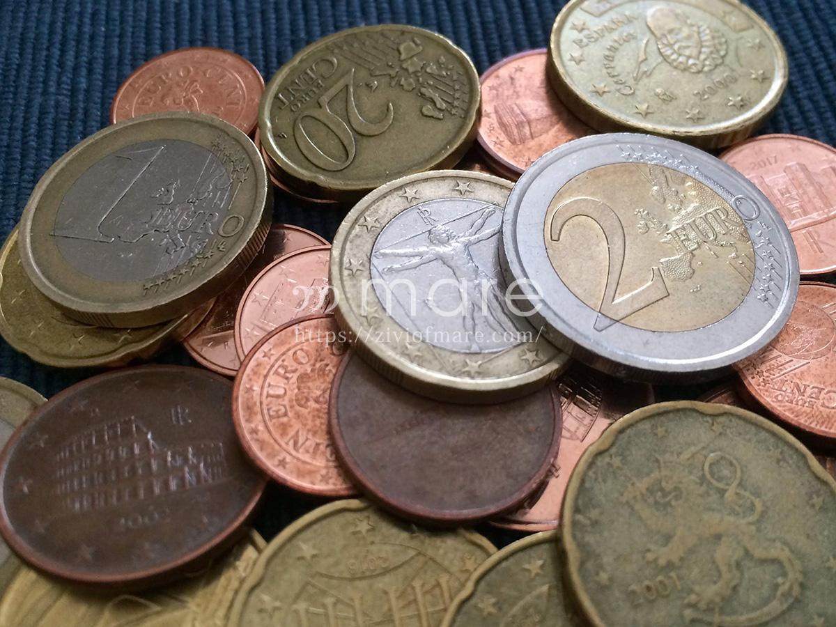 ユーロコインの片面は国ごとで違うらしい!イタリアの硬貨は名作ぞろい