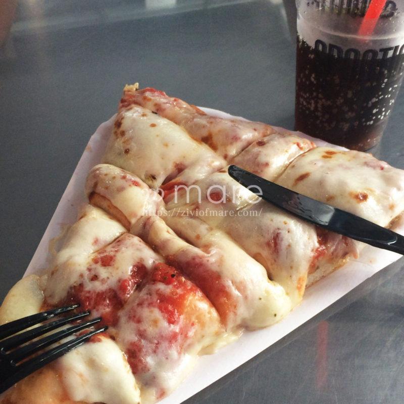 イタリアのミラノでさくっとピザを食べるなら!おなじみのスポンティーニピザ