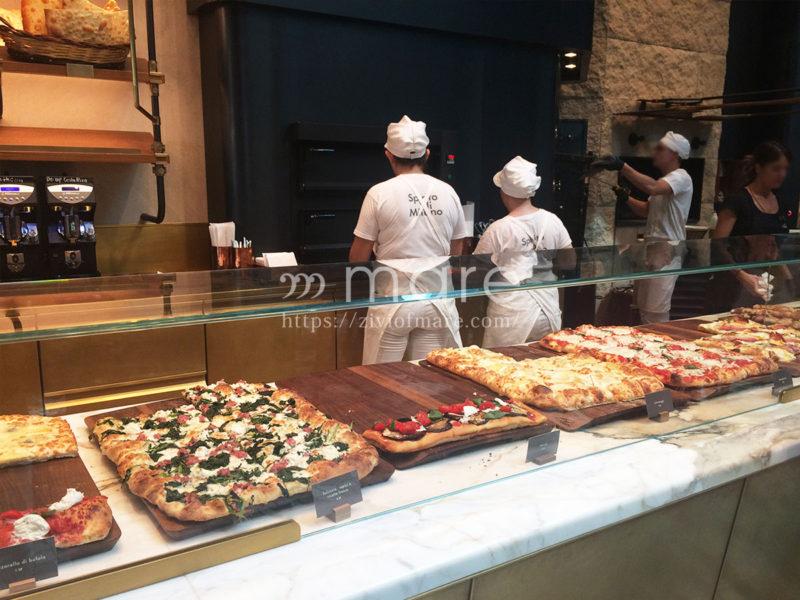 イタリア初のミラノのスターバックスピザ