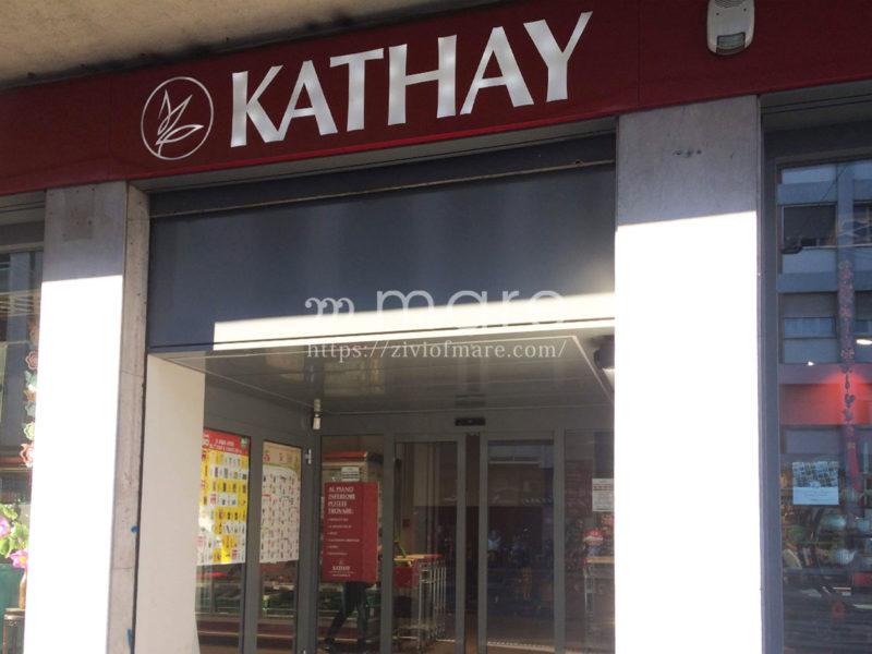 ミラノで日本食材を買うなら中華街にあるKATHAYやCHINEATがオススメ!1